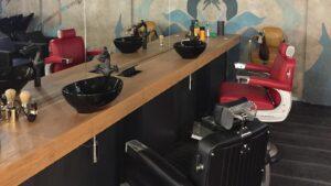 Barbershop particolare poltrone
